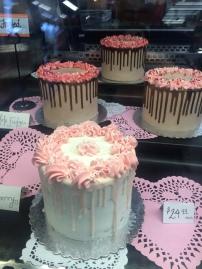 Valentine's Day custom cakes