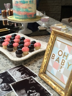Cakes by Frosted Custom Baby Gender reveal cake